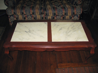 Faux Painted coffee table
